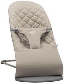 BabyBjorn Bouncer Bliss Sand Grey Cotton 006017