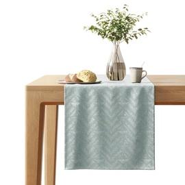AmeliaHome Blackout Navia Tablecloth Sage 40x140cm