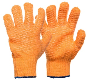 SN Gloves With Rubber C05ON-B 10