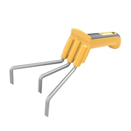 Forte Tools Cultivator Yellow