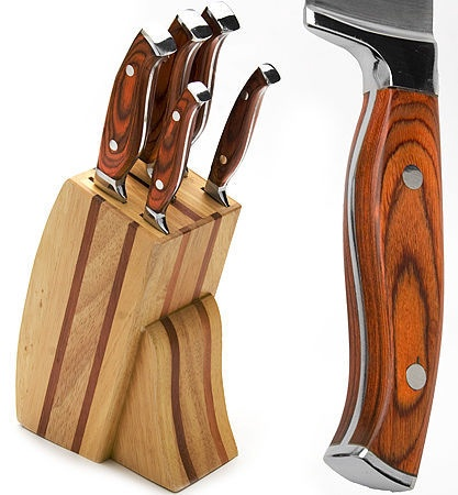 Mayer&Boch Knife Set With Stand 6pcs 23625