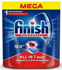 Finish All In 1 Max Powerball Tablets 76pcs