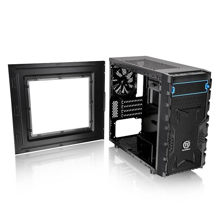 Thermaltake Versa H13 Mini Tower mATX Window Black CA-1D3-00S1WN-00