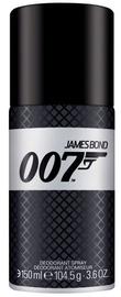 Meeste deodorant James Bond 007 James Bond 007 Spray, 150 ml