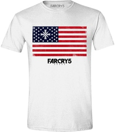 Licenced Far Cry 5 Cult Flag T-Shirt White S
