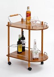 Baarilaud Halmar Bar-4 Beech, 600x400x750 mm