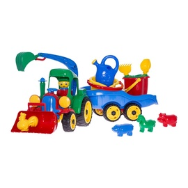 SN Tractor With Trailer & Accessories