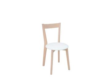 Стул для столовой Black Red White Ikka Soft White/Sonoma Oak