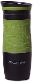 Kamille Vacuum Mug 380ml Green KM2069A