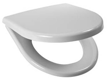 Jika Lyra Plus WC Seat & Cover White Chrome