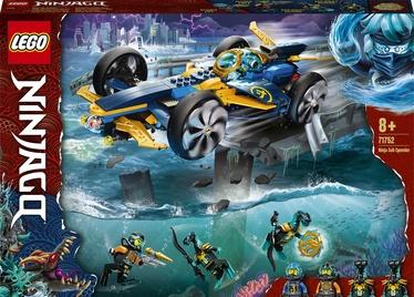 Konstruktor LEGO Ninjago Ninja Sub Speeder 71752, 356 tk