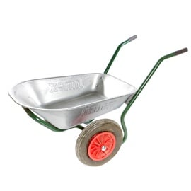 Limex Wheelbarrow Steel/Green 80l