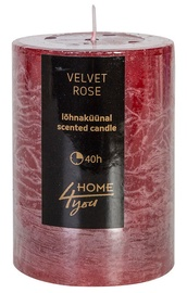 Home4you Candle Velvet Rose D6.8xH9.5cm