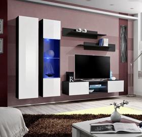 ASM Fly O5 Living Room Wall Unit Set White/Black