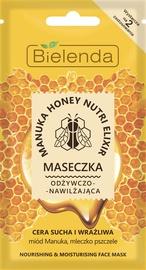 Маска для лица Bielenda Manuka Honey Nourishing & Moisturizing Face Mask, 8 г
