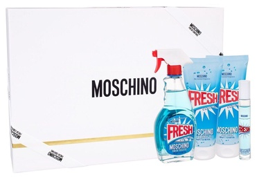 Moschino Fresh Couture 100ml EDT + 100ml Shower Gel + 100ml Body Lotion + 10ml EDT