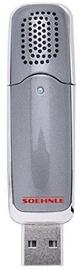 Soehnle Portable USB Air Freshener Como Grey