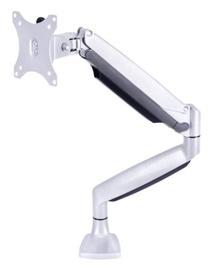 "Multibrackets Single Deskmount 15-27"" Silver"