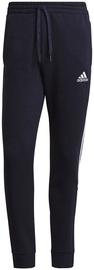 Adidas Essentials Fleece Tapered Cuff 3-Stripes Pants GK8977 Navy M