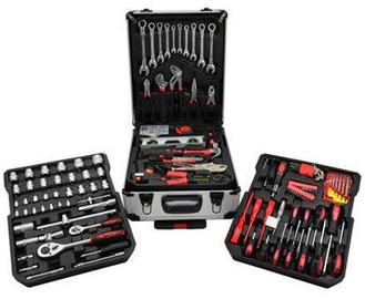 Geko Tool Box Set Aluminium Case 187pcs