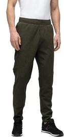 Audimas Cotton Tapered Fit Sweatpants Olive 184/L