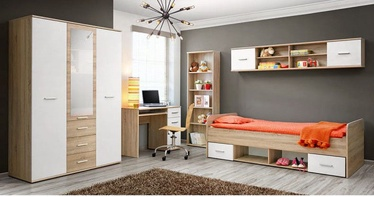 Комплект мебели для детской комнаты ASM Dino III White/Sonoma Oak