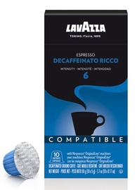 Lavazza Decaffeinato Ricco Coffee Capsules 5g 10pcs