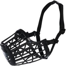 Trixie Plastic Muzzle XL Black 31cm