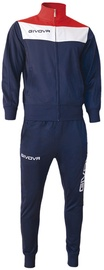 Givova Campo Tracksuit Blue/Red S