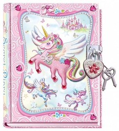 Pulio Pecoware Padlock Diary 530NUC Unicorn