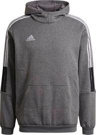 Adidas Tiro 21 Sweat Hoodie GP8805 Gray L