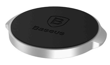Baseus Magnetic Mount Car Holder Silver