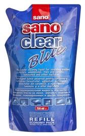 Sano Sanoclear Blue Glass Cleaner Refill 750ml