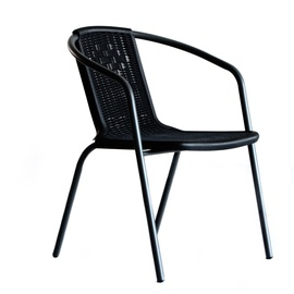 Detroit Garden Chair Black 47627