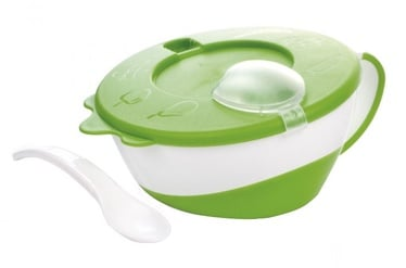 Canpol Babies Bowl With Spoon 31/406 Green