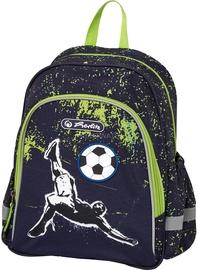 Herlitz Kick It Backpack Black/Green