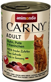 Animonda Carny Adult Chicken & Turkey & Rabbit 400g