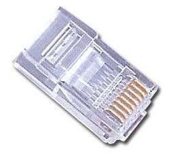Gembird Modular Plug 8P8C Gold Plated x 10