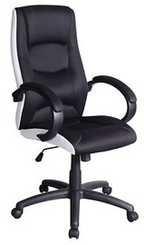 Black Red White Q41 Swivel Chair Black