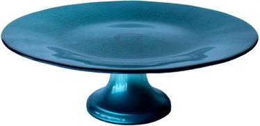 Dekor Cam Mosaic Blue Cake Stand 28cm