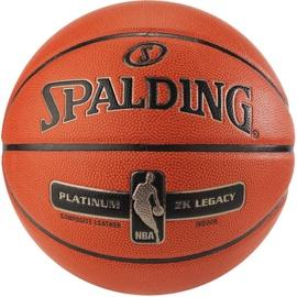Spalding NBA Platinum ZK Legacy Orange Size 7
