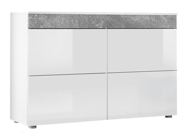 ASM SB Light Chest Of Drawers White/Grey
