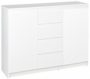Комод WIPMEB Armadio A1 2D 4S White, 110x37x85 см