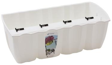 Prosperplast DCRO600 Crown Rail Box 58 x 28cm White