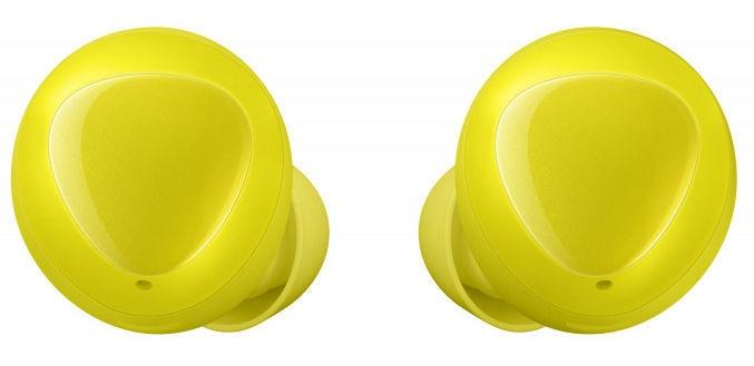 Kõrvaklapid Samsung Buds SM-R170 Yellow, juhtmevabad