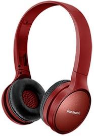 Panasonic RP-HF410BE-K Bluetooth On-Ear Earphones Red