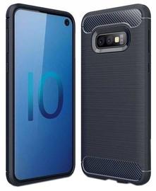Hurtel Carbon Back Case For Samsung Galaxy S10e Blue