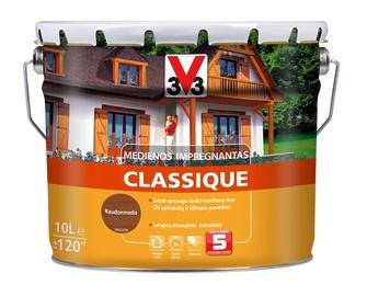 Puidukaitse Classique, 10 L, mahagon