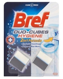 Bref Duo Cubes Hygiene Tablets For Toilet Water Tank 2x50g