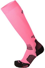 Mico Long Light Running Sock Oxi-Jet Pink/Black 41-43
